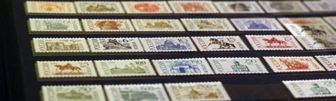 Почтовые марки современной России. Стандартные выпуски